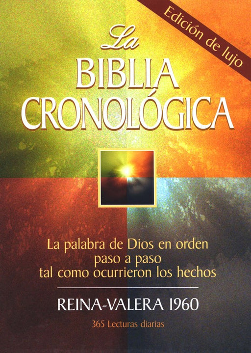 RVR 1960 La Biblia cronologica (Spanish Edition Daily Bible)