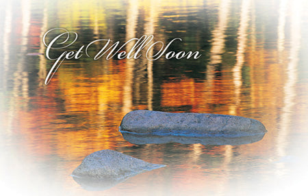 Postcard Get Well Soon Pond