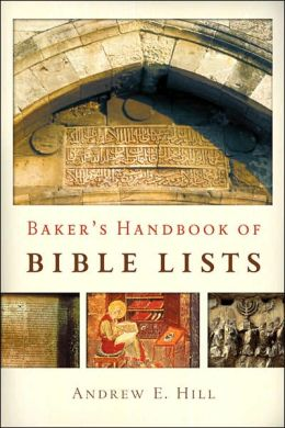 Baker's Handbook of Bible Lists
