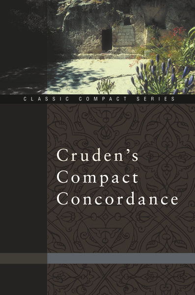 Cruden's Compact Concordance - Paperback