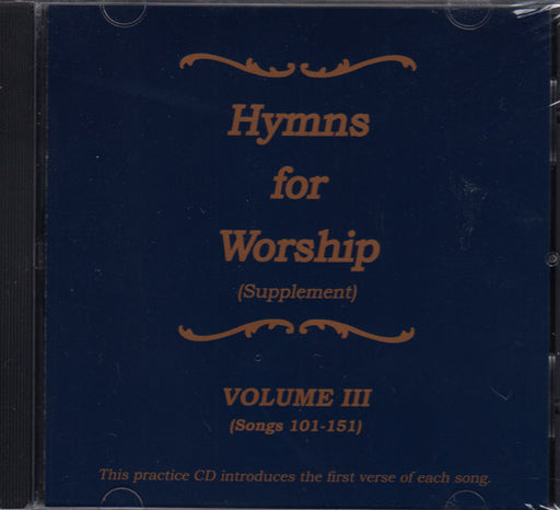 Hymns for Worship Supplement Practice CD #3