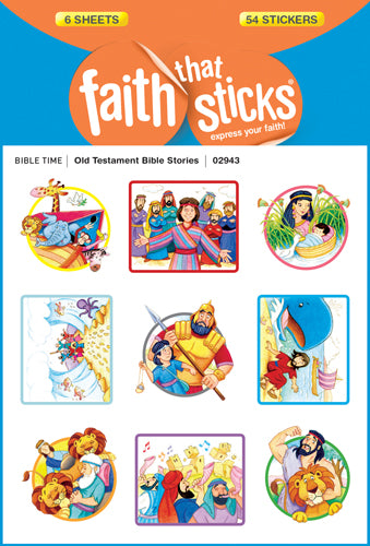 Old Testament Bible Stories Stickers