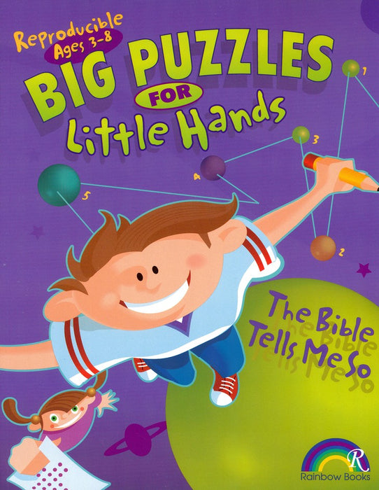 Big Puzzles for Little Hands-The Bible Tells Me So