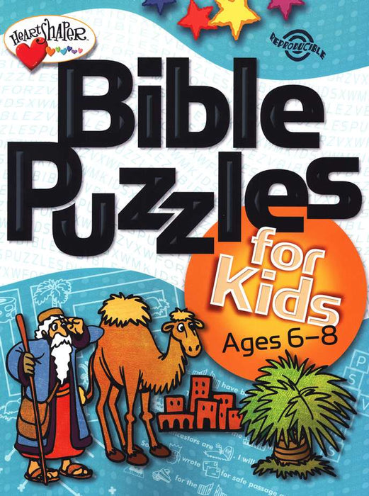 Bible Puzzles for Kids - Ages 6-8