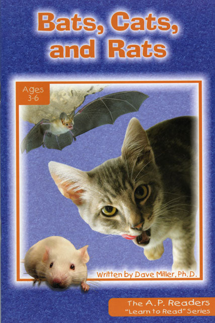 Bats, Cats, and Rats-Learn to Read Series