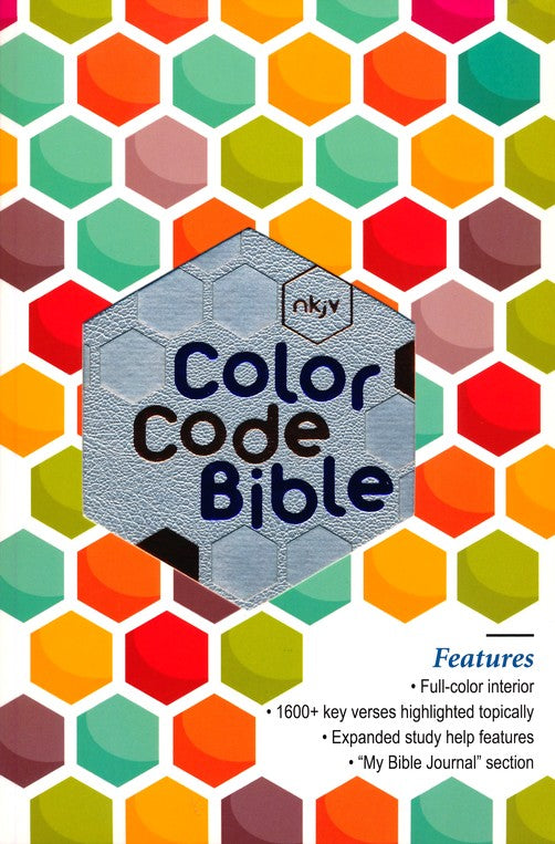 NKJV Color Code Bible (Youth/Teen) - Leathersoft