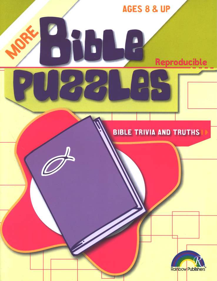 More Bible Puzzles Bible Trivia & Truths