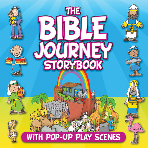 The Bible Journey Storybook With Pop-Up Play Scenes