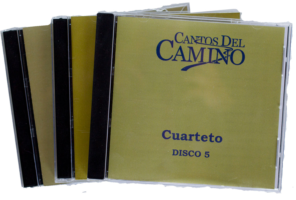 Cantos Del Camino - Cuarteto (set of 5 CD's)
