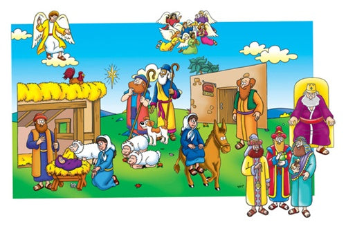 Little Folk-Baby Jesus Beginner Bible Precut