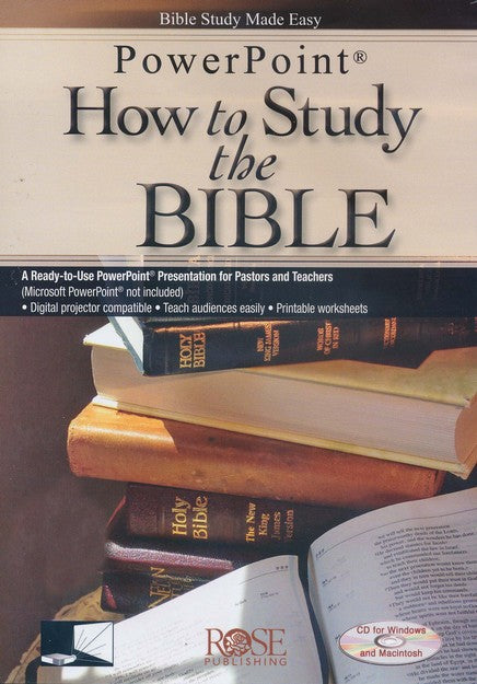 PowerPoint How to Study the Bible
