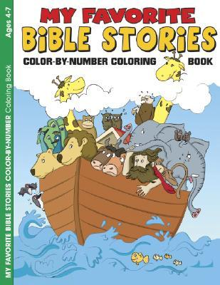My Favorite Bible Stories Color-By-Number Coloring Book