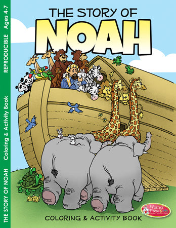 The Story of Noah Coloring and Activity Book