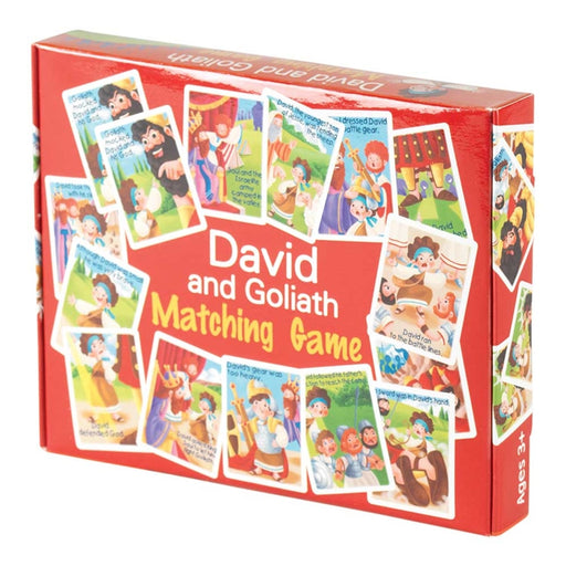 David and Goliath Matching Game