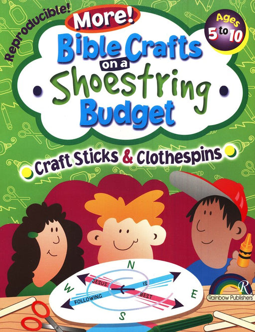 More Bible Crafts on Shoestring Budget - Craft Sticks & Clothespins