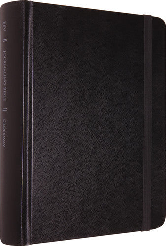 ESV Single Column Journaling Bible Black  Bonded