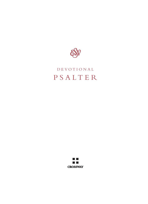 ESV Devotional Psalter TruTone