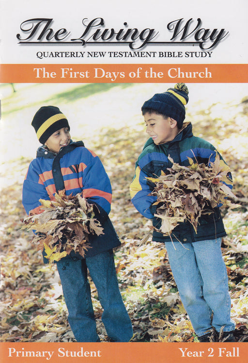 PRIMARY 2-1 ST - First Days of the Church