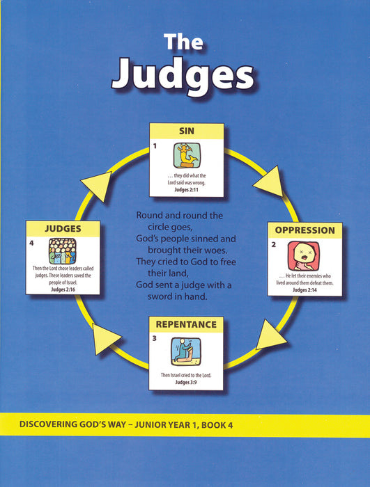 The Judges (Junior 1:4)