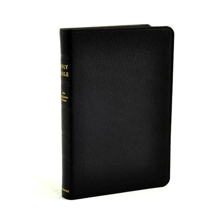 Black Goatskin Cover