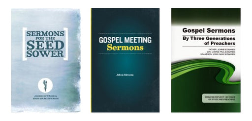 Edwards Sermon Book Bundle