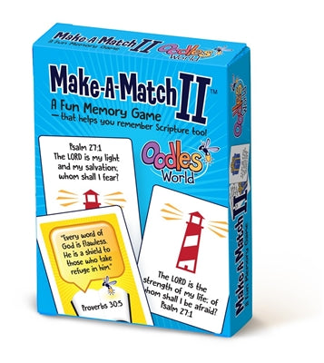 Make-a-Match II Card Game