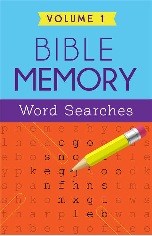 Bible Memory Word Searches Vol. 1