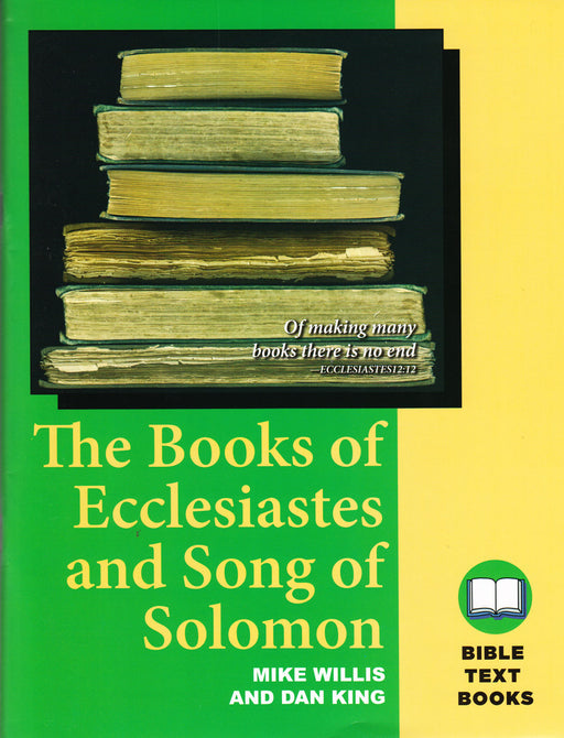BTB Ecclesiastes & Song of Solomon