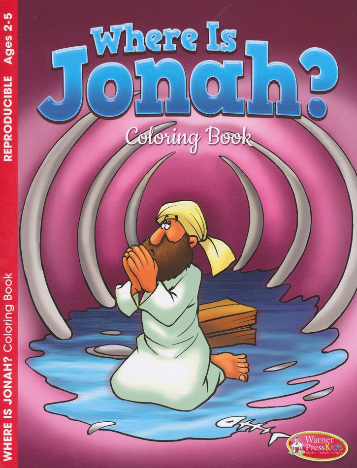Where Is Jonah? Coloring Book