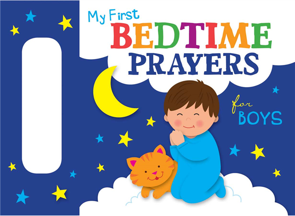 My First Bedtime Prayers for Boys Boardbook