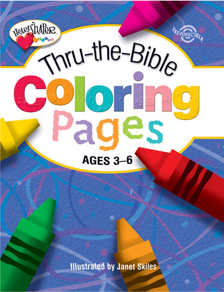 Thru-the-Bible Coloring Pages - Ages 3-6