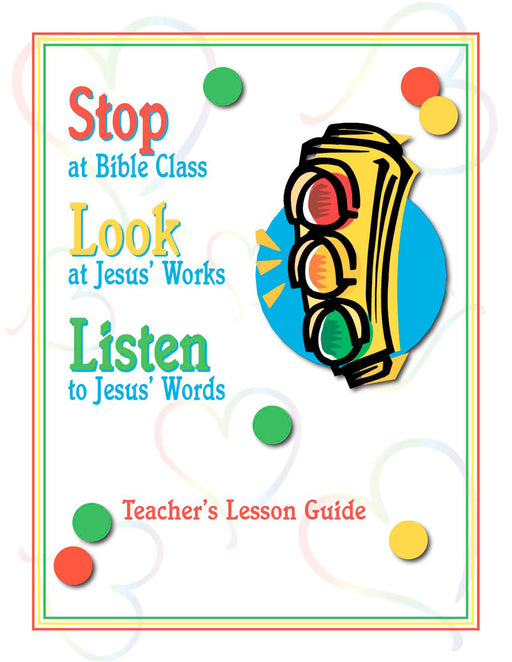 Stop, Look, & Listen Teachers Manual