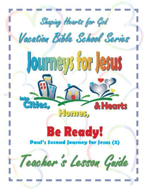 Journeys for Jesus Be Ready! Teachers Guide VBS
