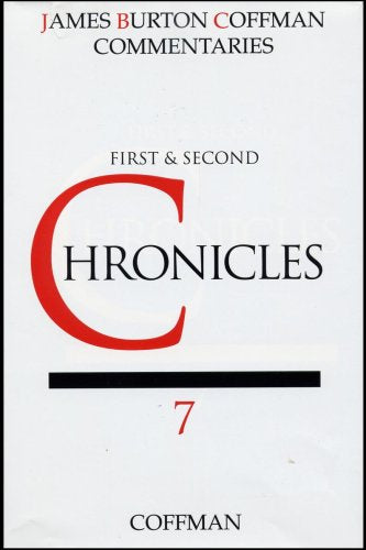 Coffman Commentary: First and Second Chronicles