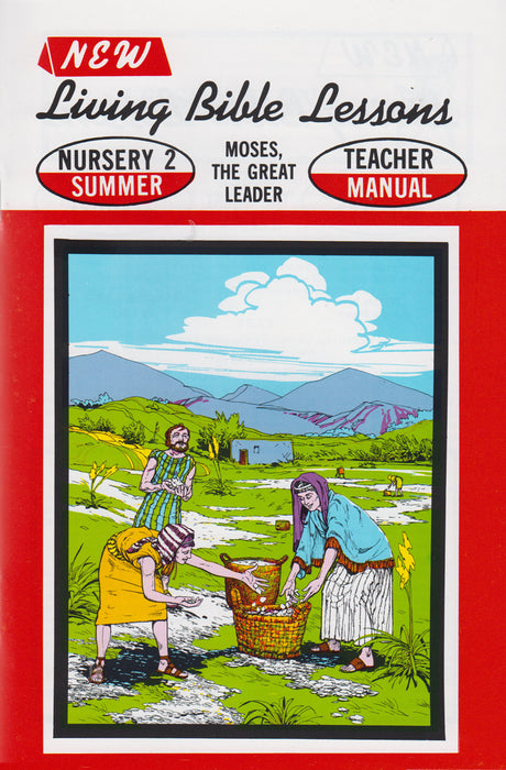 NURSERY 2-4 MAN - Moses - Great Leader