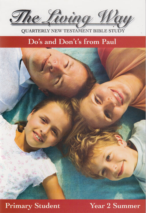 PRIMARY 2-4 ST-Do's and Don't from Paul