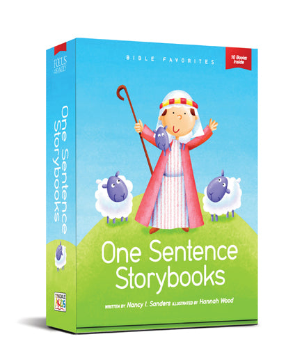 One Sentence Storybooks: Bible Favorites