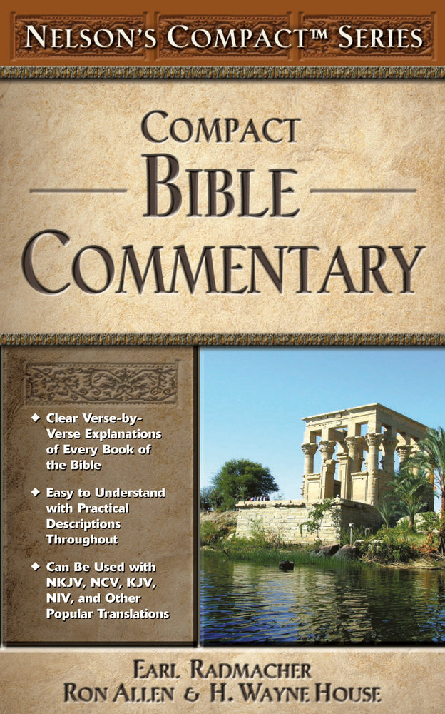 Nelson's Compact Bible Commentary - Paperback
