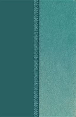 NKJV UltraSlim Reference Bible Turquoise Leathersoft