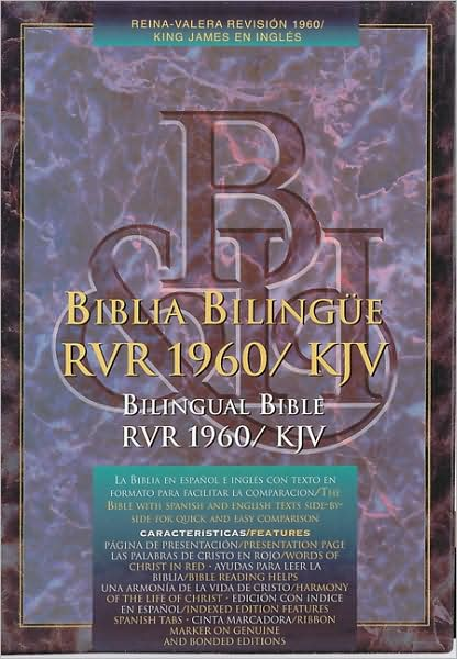 RVR 1960/KJV Biblia Bilingue - Rojizo Indice (RVR 1960/KJV Bilingual Bible - Burgundy Indexed)