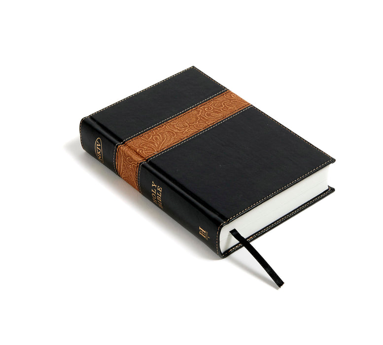 NKJV Reader's Bible Black/Brown