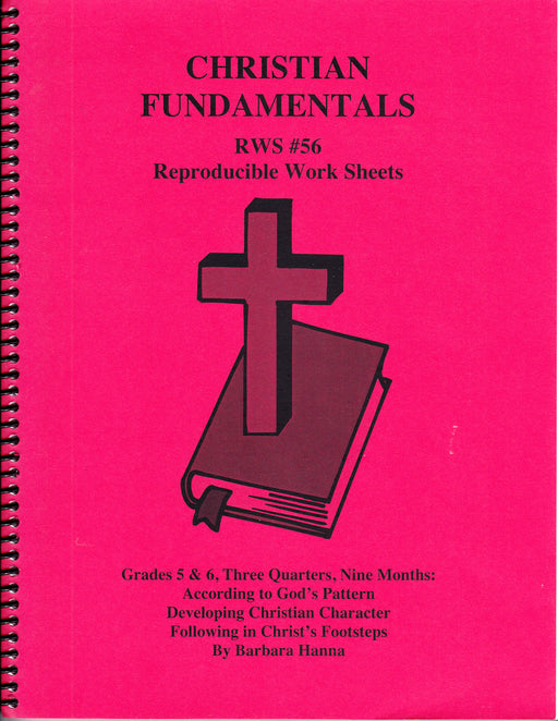 Christian Fundamentals (grades 5 & 6)