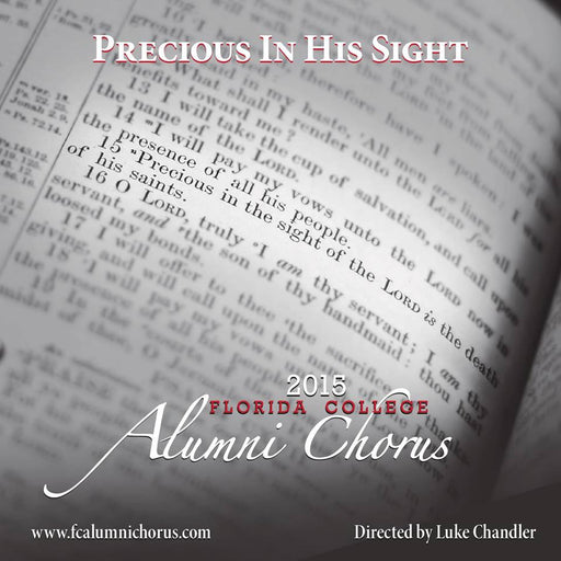 FC Alumni Chorus - Precious in His Sight - 2015 CD