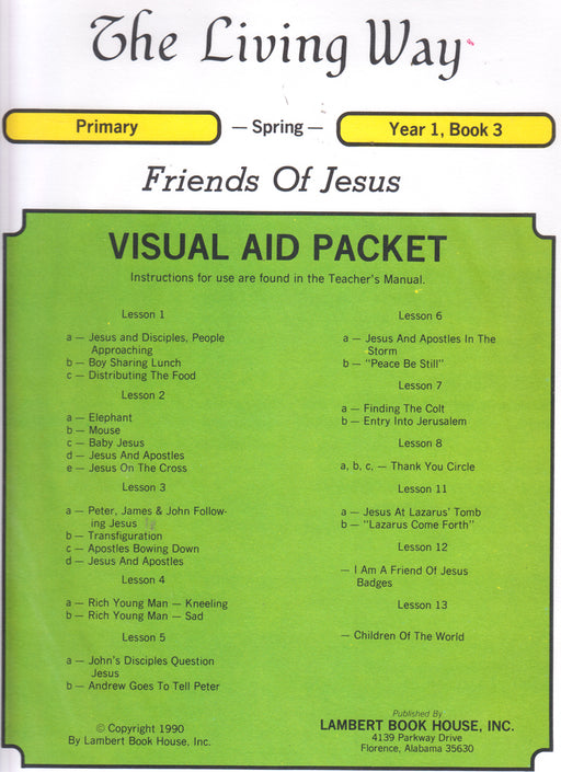 PRIMARY 1-3 VIS - Friends of Jesus