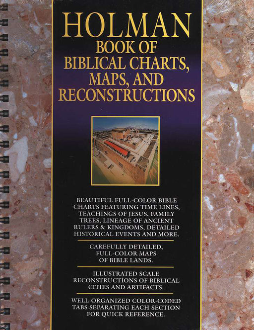 Holman Book of Biblical Charts - Maps & Reconstructions