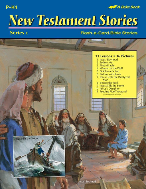 New Testament Series 1 Flash-A-Card Bible Stories - Book Format