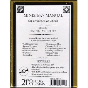 Minister's Manual For Churches Of Christ
