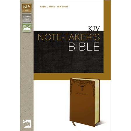 KJV Note-Taker's Bible Brown Duo-Tone