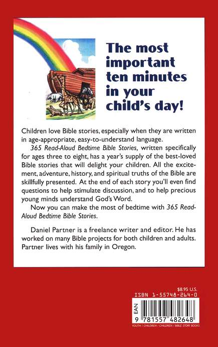 365 Read-Aloud Bedtime Stories - Paperback