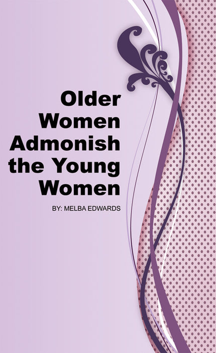 Older Women Admonish The Young Women